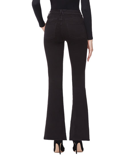 Good American Duster Flare Jeans - Inclusive Sizing