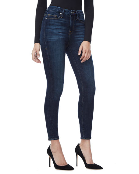 Good American Good Legs Smoothing Stretch Jeans - Inclusive Sizing