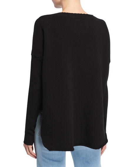 Frank & Eileen Tee Lab Relaxed Long-Sleeve Cotton Sweatshirt