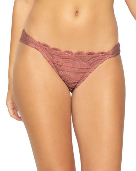 PilyQ Lace Hipster Bikini Bottom