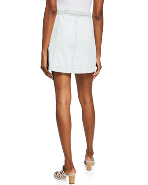 8ae5ace94 Women's Denim & Other Mini Skirts at Neiman Marcus
