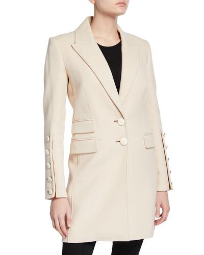Reece Two-Button Long Coat