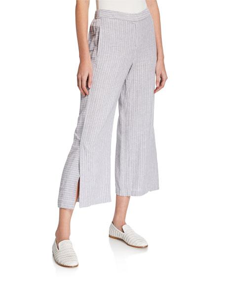 NIC+ZOE Plus Size Central Park Striped Pants