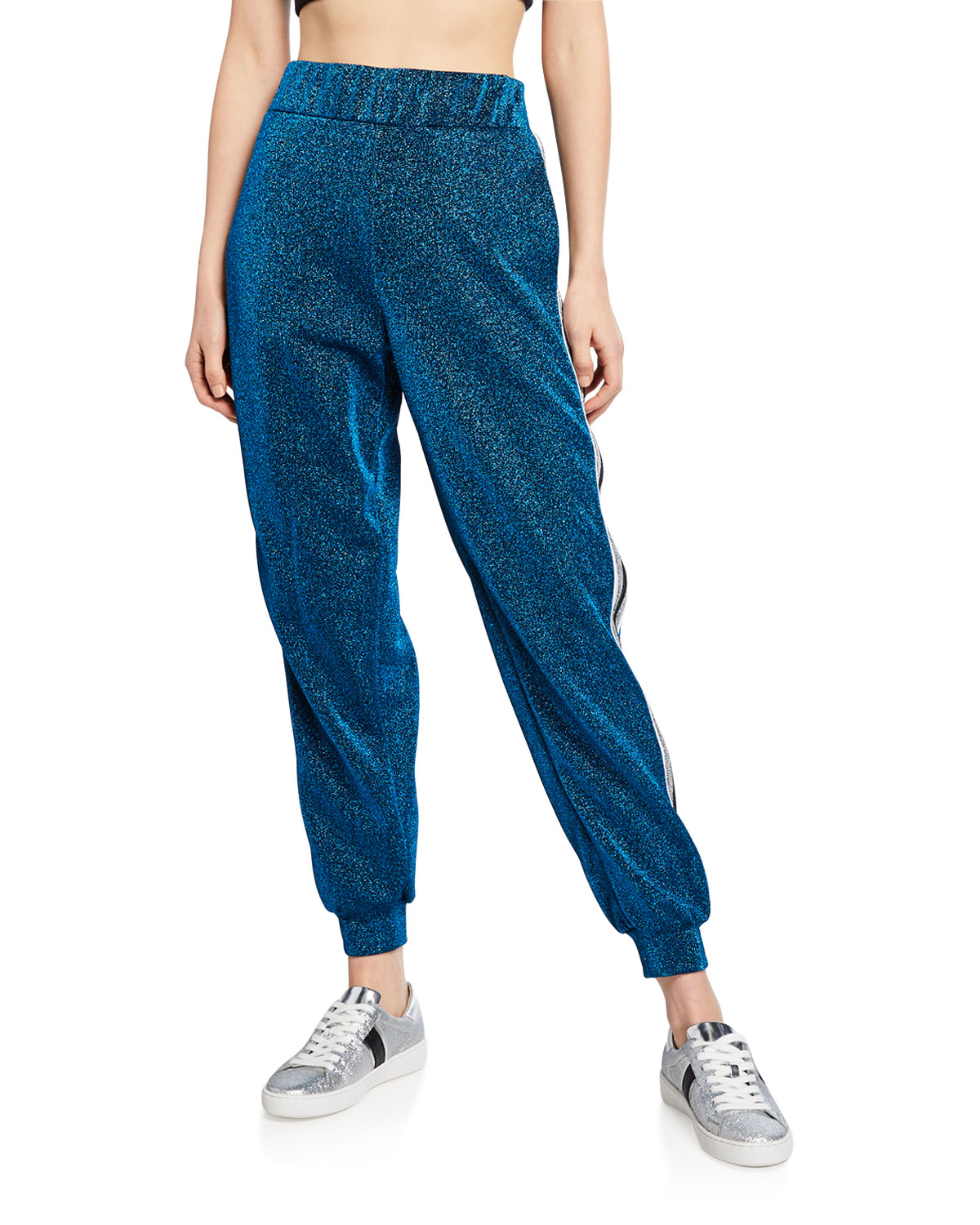 No Ka Oi Attitude Side Striped Joggers