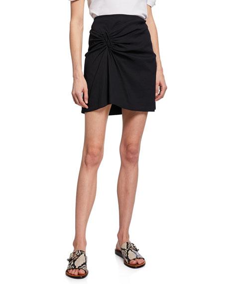 A.L.C. Burke Ruched Mini Skirt