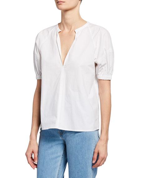 A.L.C. Katherine V-Neck Short-Sleeve Top