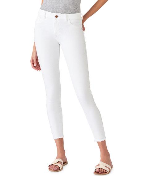 DL1961 Premium Denim Florence Ankle Mid-Rise Skinny Jeans