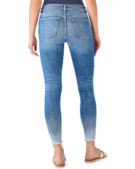 DL1961 Premium Denim Florence Ankle Mid-Rise Crop Skinny Jeans