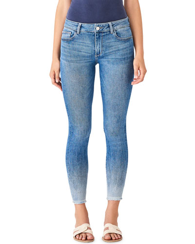 Florence Ankle Mid-Rise Crop Skinny Jeans