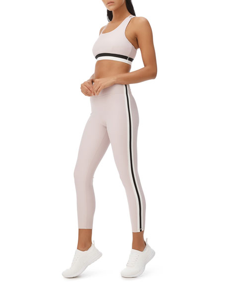 All Fenix Kyla Side Striped Cropped Leggings