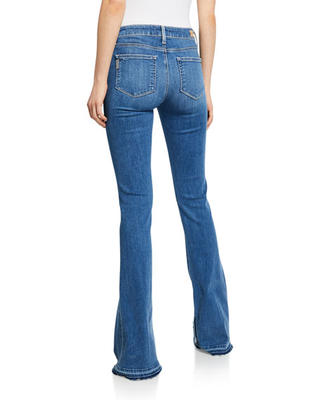 PAIGE Lou Lou Flare Jeans with Released Hem