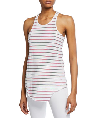 2efe5bb2 Frank & Eileen Tee Lab Base Layer Stripe Scoop-Neck Cotton Essential Jersey  Tank