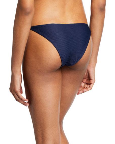 Onia Rochelle Ribbed Hipster Bikini Bottom