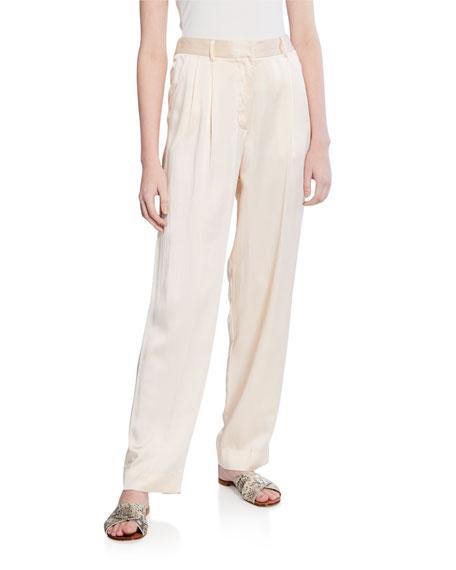 Forte Forte Silk Cloque Pants