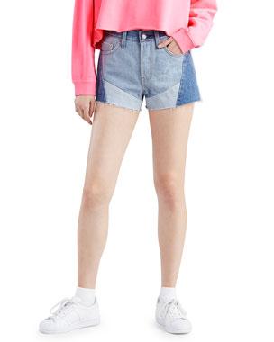 Women S Designer Shorts Denim Amp Linen At Neiman Marcus