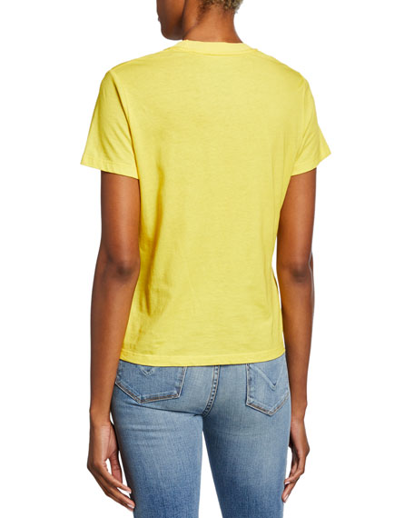 Zimmermann Goldie Suns Out Short-Sleeve Graphic Tee