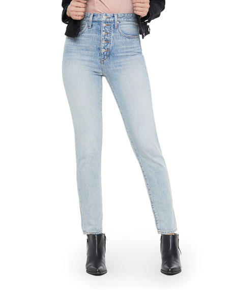 Joe's Jeans WeWoreWhat X Joe's Danielle High-Rise Vintage Straight Jeans