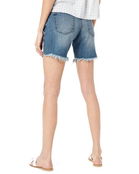 Joe's Jeans The 7 Bermuda Shorts with Frayed Hem