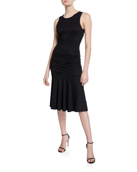 Diane von Furstenberg Jace Ruched Sleeveless Dress