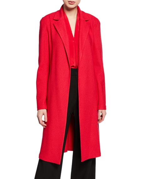 St. John Collection Gail Open-Front Knit Jacket