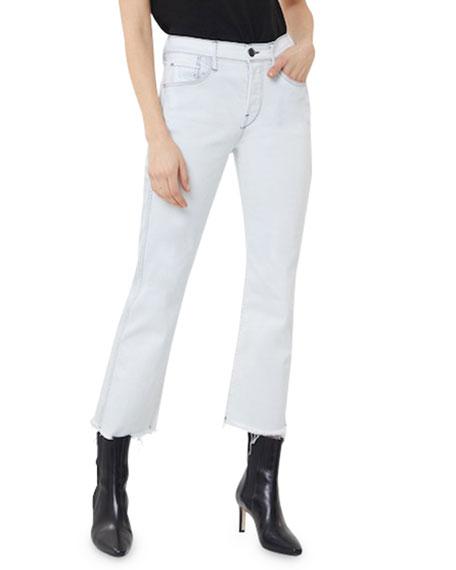 3x1 Austin High-Rise Straight Crop Jeans
