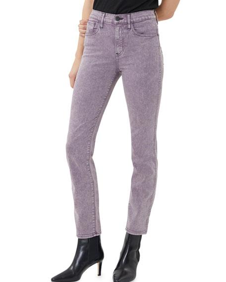 3x1 Stevie High-Rise Straight-Leg Jeans