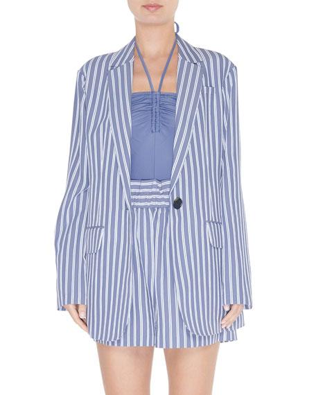 striped-viscose-twill-oversized-blazer by tibi