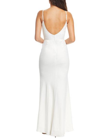 Dress The Population Jodi Sleeveless Column Gown
