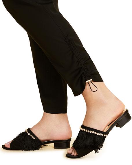 Marina Rinaldi Plus Size Ribalta High-Rise Pull-On Ankle Pants