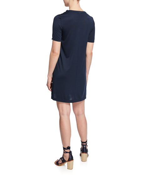 Rag & Bone Allegra Short-Sleeve T-Shirt Dress