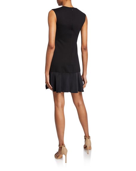 Rebecca Taylor Stacy Sleeveless Knit Short Dress