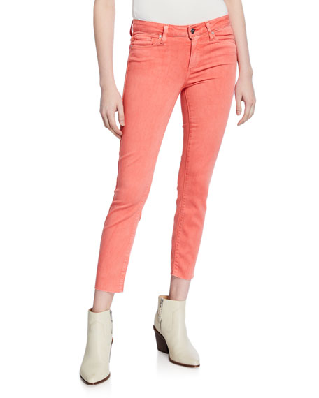 Image 1 of 3: PAIGE Verdugo Cropped Ankle Skinny Jeans