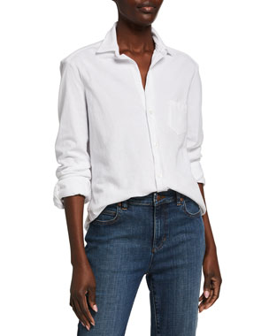 Frank & Eileen Tee Lab Button-Down Long-Sleeve Classic Cotton Shirt