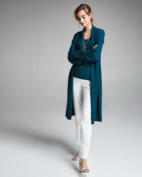 Neiman Marcus Cashmere Collection Plus Size Scoop-Neck Cashmere Tank