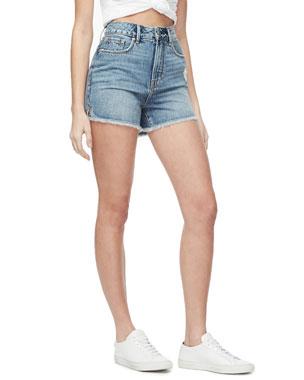 873229b706 Good American Bombshell High-Rise Shorts - Inclusive Sizing