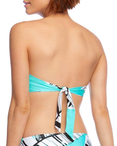 Trina Turk Cocacabana Printed Bandeau Bikini Top