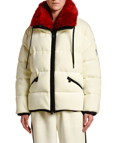 Oversized Faux-Fur Collar Coat
