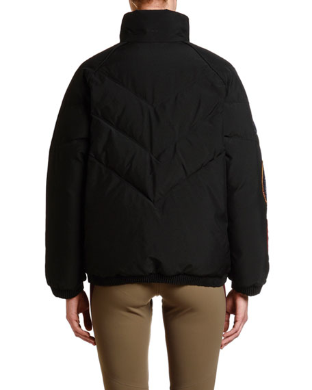 Moncler 2 Moncler 1952 Minho Puffer Jacket w/ Patches