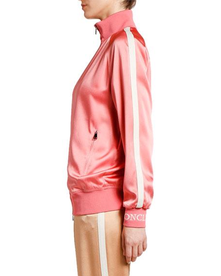 Moncler Camicia Logo-Sleeve Track Jacket