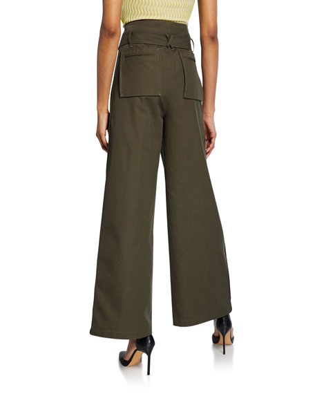 Opening Ceremony Wide-Leg Cargo Pants