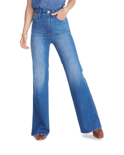 11 High-Rise Flare Jeans