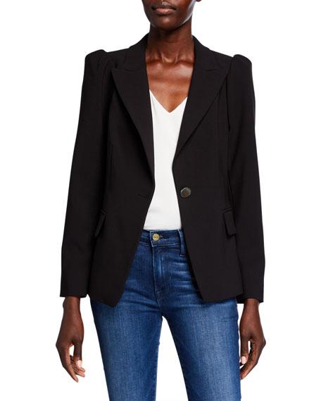 Kobi Halperin Gina Bracelet-Sleeve One-Button Jacket