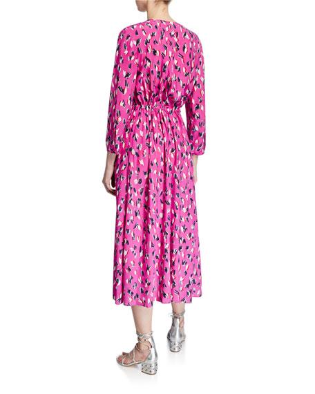 NIC+ZOE Plus Size Cool Cat Midi Dress