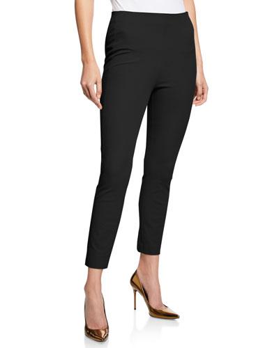 Jessalyn Skinny-Leg Cropped Pants