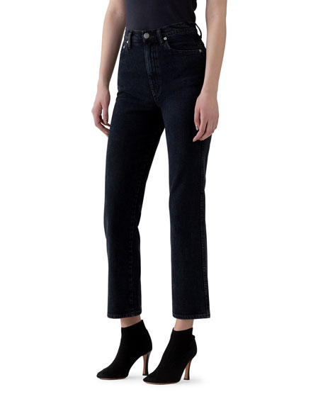 AGOLDE Pinch Waist High-Rise Straight Jeans