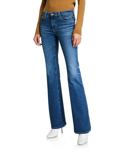 Angel Boot-Cut Mid-Rise Jeans