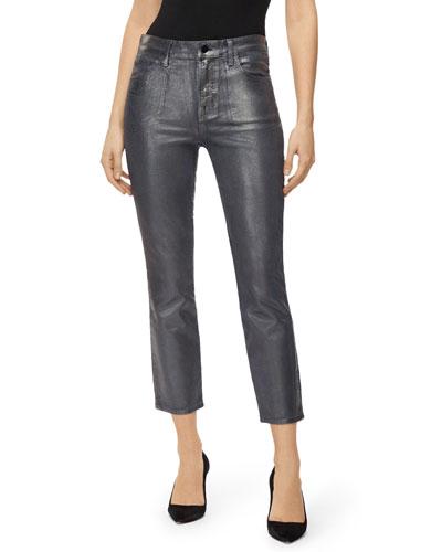 Ruby High-Rise Cigarette Crop Jeans