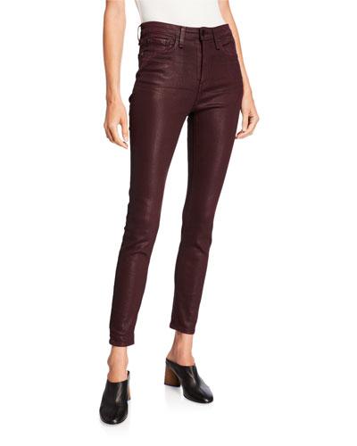Nina High-Rise Ankle Skinny Jeans