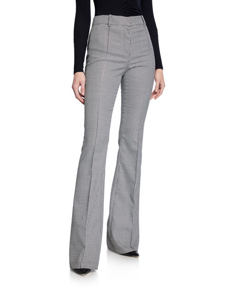 Veronica Beard Hibiscus High-Rise Pants