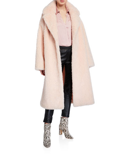 Clara Faux-Shearling Coat